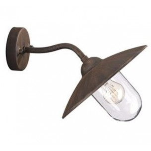 Massive Glasgow 16438186 roest wandlamp buiten