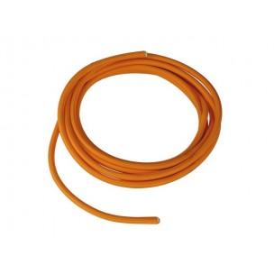 Textielkabel oranje 10 meter 3-polig SLV 961274