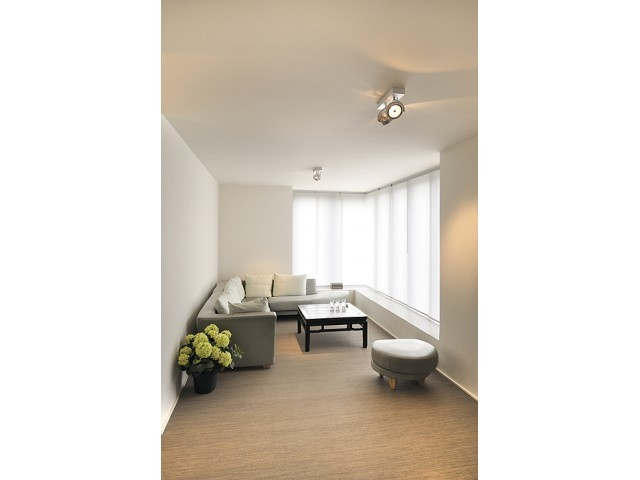 slv 147266 kalu 2 alu geborsteld plafondlamp. Black Bedroom Furniture Sets. Home Design Ideas