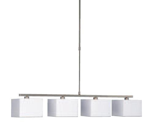 Vierkante Hanglamp Wit 366763110 Hanglamp Wit
