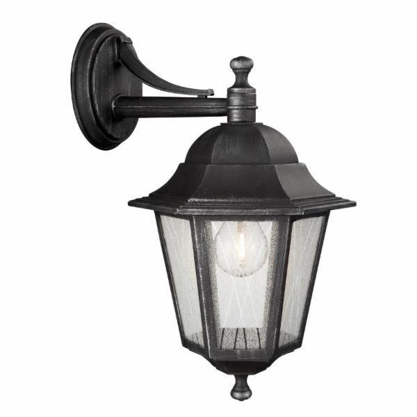 Massive toulouse 153315410 zwart wandlamp buiten lampen for Massive lampen