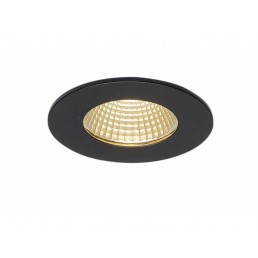 SLV 114420 Patta-I LED round zwart inbouwspot