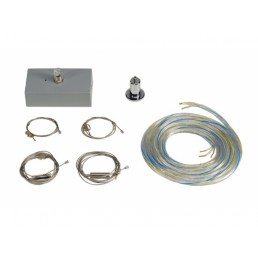 SLV 133834 ophangset voor Medo 60 Square zilvergrijs hanglamp