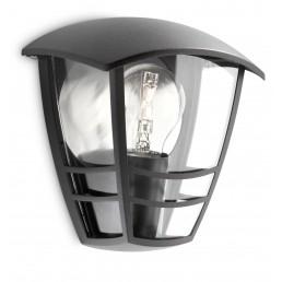 Philips Creek 153873016  zwart myGarden wandlamp