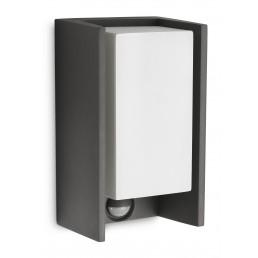 Philips Bridge 163529316 antraciet sensor Ecomoods Outdoor wandlamp