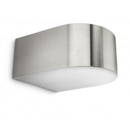 Philips Picnic 171814716 RVS myGarden wandlamp