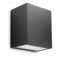 Philips Flagstone 172093016 antraciet Ledino Outdoor wandlamp