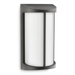 Philips Pond 172293016 antraciet Ecomoods Outdoor wandlamp