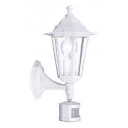 22464 Laterna 5 met sensor Eglo wandlamp buitenverlichting