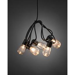 Konstsmide 2386-100 LED Lichtsnoer 20-lamps helder feestverlichting
