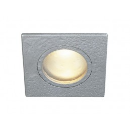 SLV 111128 FGL OUT MR16 Square zilvergrijs inbouwspot
