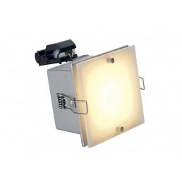 SLV 111252 Frame Dista GU10 zilvergrijs inbouwspot