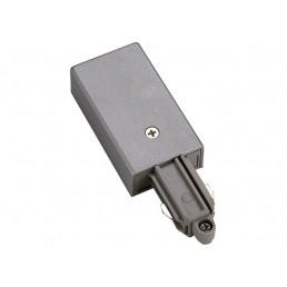 SLV 143032 1-Fase voeding zilvergrijs