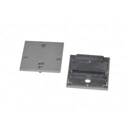 SLV 158320 doorverbinder voor Riffa PD-101 / PD-102 zilvergrijs kantoorverlichting