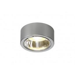 SLV 112284 CL 101 GX53 zilvergrijs plafondarmatuur