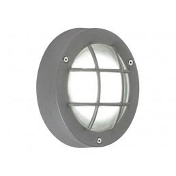 SLV 230822 Delsin LED warmwit steengrijs wandlamp buiten