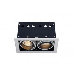 SLV 115314 Aixlight Pro 50 Frame 2 GU10 inbouwspot