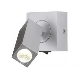 SLV 146272 Stix led wandlamp zilvergrijs