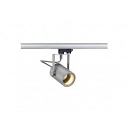 SLV 153854 Euro Spot GU10 zilvergrijs 3-fase railverlichting