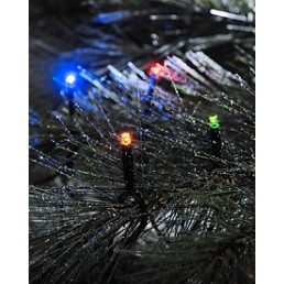 Konstsmide 3610-500 Led micro lichtsnoer multicolor 40 Kerstverlichting buiten