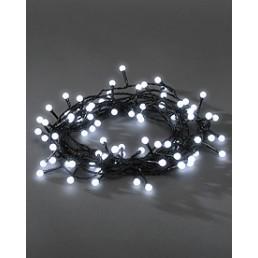 Konstsmide 3691-207 Led lichtsnoer 80 bolletjes koelwit kerstverlichting