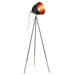 49386 Eglo Dundee Vintage vloerlamp