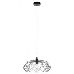 49487 Eglo Carlton 2 Vintage hanglamp zwart