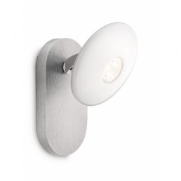 Philips Ledino Tympan 53140/48/16 led wandlamp alu