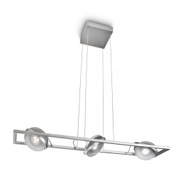 Philips Ledino Particon 531594816 led hanglamp alu