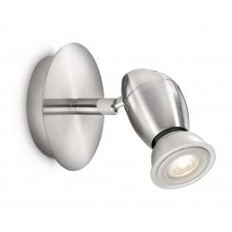 Philips myLiving Chestnut 55690/17/16 wand / plafondlamp mat chroom