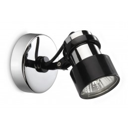 Philips myLiving Finish 564401116 plafondlamp chroom / zwart