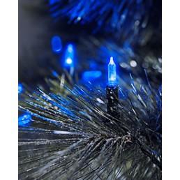 Konstsmide 6004-400 Led mini lichtsnoer blauw 40 kerstverlichting buiten