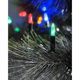 Konstsmide 6004-500 Led mini lichtsnoer multicolor 40 kerstverlichting buiten