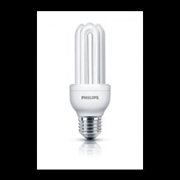 8711500801210 Spaarlamp E27 18W Philips Genie warmwit