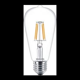 Philips LED filament lamp E27 4.3W (40W) classic