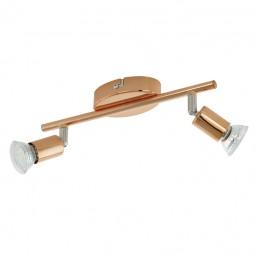 94773 Eglo Buzz-Copper plafondlamp koper