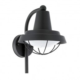 94862 Eglo Colindres 1 zwart wandlamp