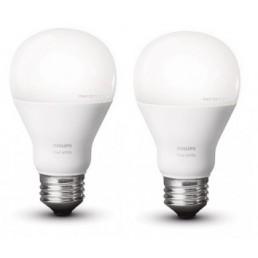 2 stuks Hue White led lamp E27 9.5W actie