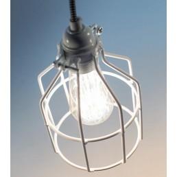 Lichtlab No.15 Kooi wit industriële hanglamp