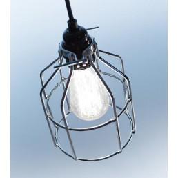 Lichtlab No.15 Kooi zilver industriële hanglamp