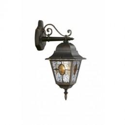 Massive Munchen 151714210 zwart / goud wandlamp buiten