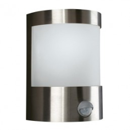 Massive Vilnius 170244710 RVS wandlamp sensor buiten