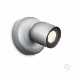 Philips Ledino Zesta 564904816 LED wandspot zilvergrijs