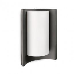 Philips Meander 164049316 antraciet  Ecomoods Outdoor wandlamp