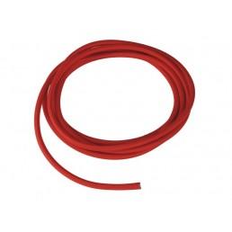 Textielkabel rood 10 meter 3-polig SLV 961276