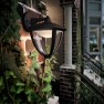 Philips Robin 154713016 zwart MyGarden wandlamp