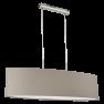 31585 Eglo Pasteri taupe hanglamp
