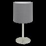 31596 Eglo Pasteri grijs tafellamp