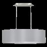 31612 Eglo Maserlo grijs / zilver hanglamp