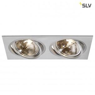 SLV 111372 New Tria 2 QRB 111 alu inbouwspot